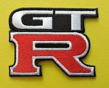 MOTOR RACING CAR SPEED FESTIVAL SEW ON / IRON ON PATCH:- GT-R NISSAN SKYLINE