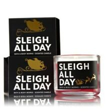 Bath and Body Works Mini Candle SLEIGH ALL DAY NEW Scent Holiday