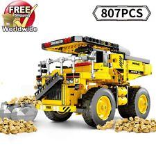 City Construction Dump Truck Tipper Building blocks Bricks 807pcs Toy