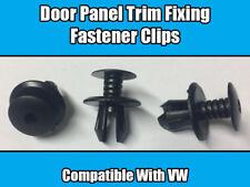 100x CLIPS FOR VW TRANSPORTER EUROVAN T4 T5 INTERIOR TRIM DOOR PANEL FIXING BLAC