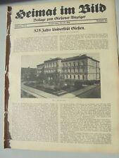 1932 20 325 Jahre Uni Gießen