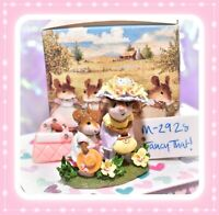 ❤️Wee Forest Folk M-292s Fancy That! LIMITED Hattie Just Like Mommy Pastel❤️