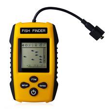 Venterior Portable Fish Finder, Fishfinder with Wired Sonar Sensor Transducer an