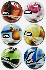 50 Pack - One Flavor Waves Condoms Assorted Flavors - Same Day Shipping