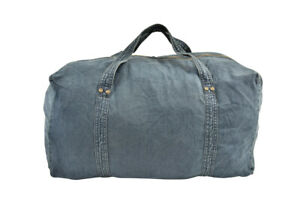 One Teaspoon Womens Denim 21296 Bag Holdall Midnight Blue Size OS