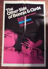 """1968 The Other Side of Bonnie and Clyde 1-Sh Movie Poster 27x41"""" FN-"""