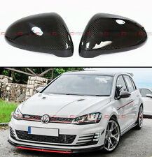 1:1 Replacement Carbon Fiber Side Mirror Cover For 2015-17 Golf 7 Mk7 GTI R VII