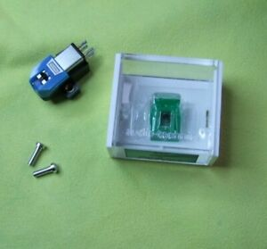 AT95E Audio Technica MM Cartridge & New Stylus with Used Paratrace Stylus