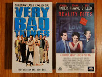(Lot2) Very Bad Things 1998 Reality Bites 1994 VHS RARE HTF OOP! COMEDY DARK