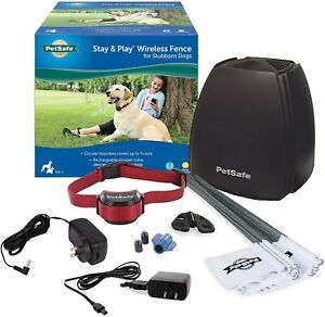 PetSafe Stay+Play Rechargeable Wireless Stubborn 2 Dog Fence System PIF00-13663
