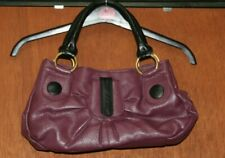 Tommy & Kate Leather Bag Purple Hand Bag