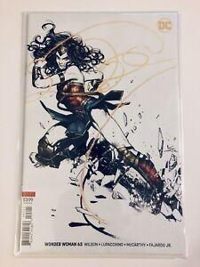 Wonder Woman #63 Kamome Shirahama Variant Cover B 2019 NM