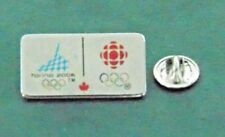 Torino Italy 2006 Winter Olympic CBC Canadian Broadcasting Corp Pin Lapel