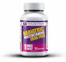 PROCARE HEALTH BARIATRIC MULTIVITAMIN 30 COUNT CAPSULE  IRON FREE BYPASS SLEEVE