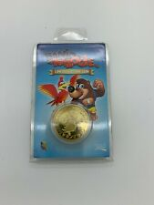 Banjo Kazooie Limited Edition to 1000 GOLD Collectable COIN 'New & Sealed'