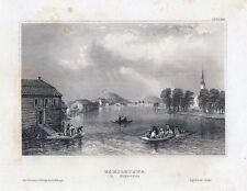 ESKILSTUNA in Schweden-StSt. um 1840 BIH-10,0x15,0 cm