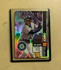 Ichiro Suzuki Seattle Mariners MLB Showdown 2002 Holo Foil Card