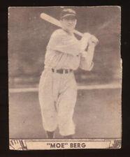 1940 Play Ball #30 Moe Berg trimmed
