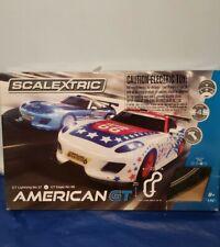 SCALEXTRIC AMERICAN GT SLOT CAR SET