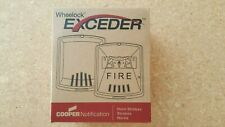 Wheelock Strobe - Stw Exceeder Series - White