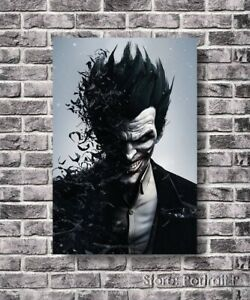 Joker Oil Painting The Killing Batman Art Hand-Painted Canvas 30x40 inches