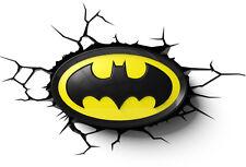 3dfx Batman Logo 3d Deco Wall Light