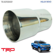 TRD Pipe Muffler Cutter Exhaust For Toyota Hilux Revo Sr5 Genuine 2015 2016 2017