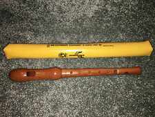 ANGEL STAR RECORDER Soprano WOODEN FLUTE  Collectible ASRG-350 School Band VTG
