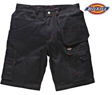 "Dickies Redhawk Pro Combat Shorts Waist Size 30 - 42"" Mens Black Work Wd802 42 In."