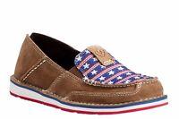 Ariat® Ladies Cruiser Dirty Tan Stars & Stripes Slip-On Shoes 10021624