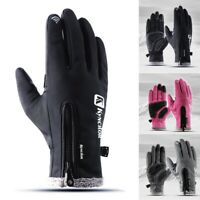 Winter Warm Windproof Waterproof Thermal Gloves Touch Screen Mittens Men Women