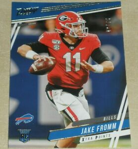 2020 Panini Prestige Rookie Xtra Points Gold #246 Jake Fromm RC 42/75