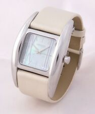 RELOJ VENDOUX MUJER ACERO LS14310 WOMENS NEW STEEL MOTHER PEARL WATCH UHR 3 ATM