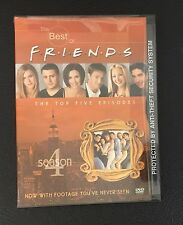 The Best of Friends: Season 4 DVD The Top Five 5 Episodes NEW SEALED