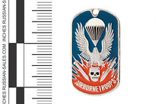 LUXURY MILITARY DOGTAG AIRBORNE PARATROOPS LANDING PENDANT SKULL KNIVES EAGLE