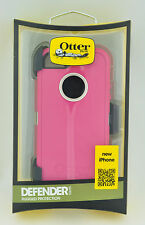 Genuine OtterBOX Rugged Defender Case with Belt Clip for Apple iPhone 5 - Blush