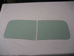 1951 1952 1953 1954 KAISER HENRY J 2pc Windshield Tinted NEW Vintage Auto Glass