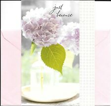 Pink Lilac Bouquet - Friends Friendship  Hallmark Greeting Card