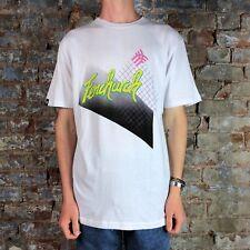 Fenchurch Mens Stein Short Sleeve T-Shirt in White in Size M,L,XL
