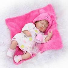 "Pinky 17"" Real Life Like Reborn Doll Realistic Newborn Sleeping Baby Girl Dolls"