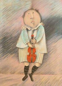 """Boulanger """"Le Violonist"""""""