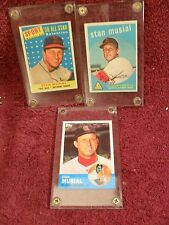 "NINE (9) Card LOT of ""STAN MUSIAL"" ""Collectible"" Baseball CARDS w/ ""PUZZLE"""