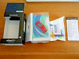 Garmin Vivo Fit accessories Fitness Band and 12 pack official bands in box UK