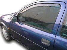 VAUXHALL CORSA B mk2 1993 2001 3D Deflettori vento anteriore COLORATA HEKO 2 PC