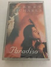 ROBERT MICHAELS Paradiso CASSETTE TAPE 1995 Made in Canada