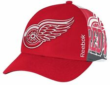 NHL Detroit Red Wings Reebok Official Playoff Structured Adjustable Hat