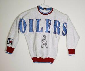 Vintage Houston Oilers Legend Athletic Crew Neck Long Sleeve Sweater Size M