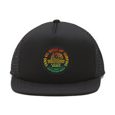 Vans - US OPEN of SURFING 2016 - Trucker Hat (NEW) Black Cap 420 RASTA Free Ship