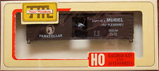 HO Train Miniature Murial Cigars Tobacco 40' Wood Box Car Kit