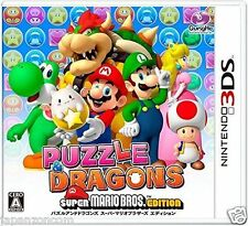 Used 3DS PUZZLE AND DRAGON SUPER MARIO EDITION   NINTENDO 3DS JAPANESE  IMPORT